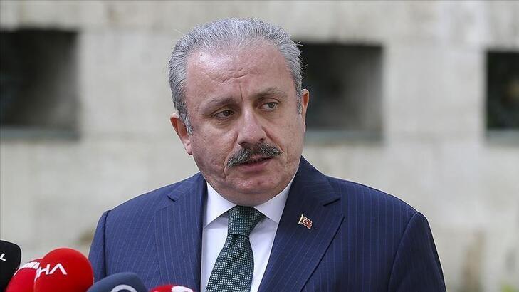 TBMM Başkanı Şentop, AK Parti Hani İlçe Başkanlığına yönelik saldırıyı kınadı