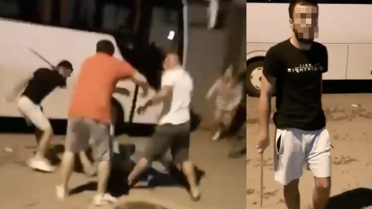 Antalya'daki palalı saldırıya ait yeni görüntüler ortaya çıktı