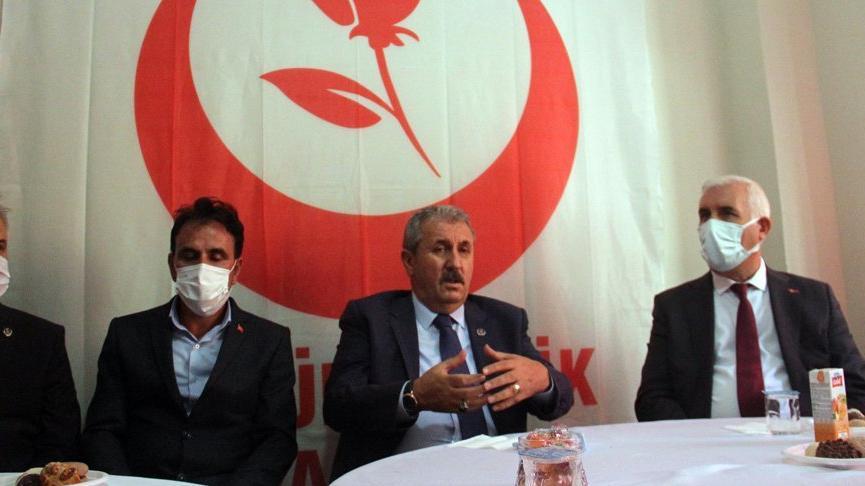 Mustafa Destici: Bizler Cumhur İttifakı'nın içerisindeyiz