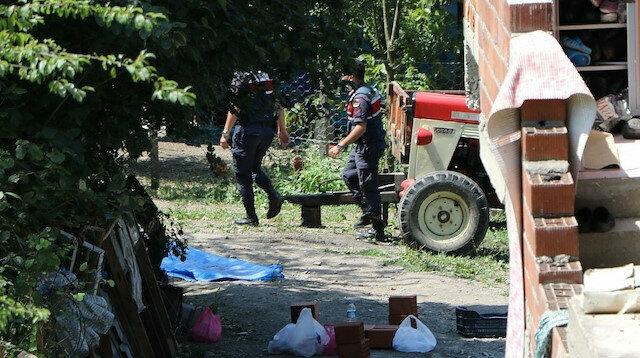 Zonguldak'ta vahşet: Öldürüp ormana gömüp duvardaki kan izlerini alçıyla kapatmışlar