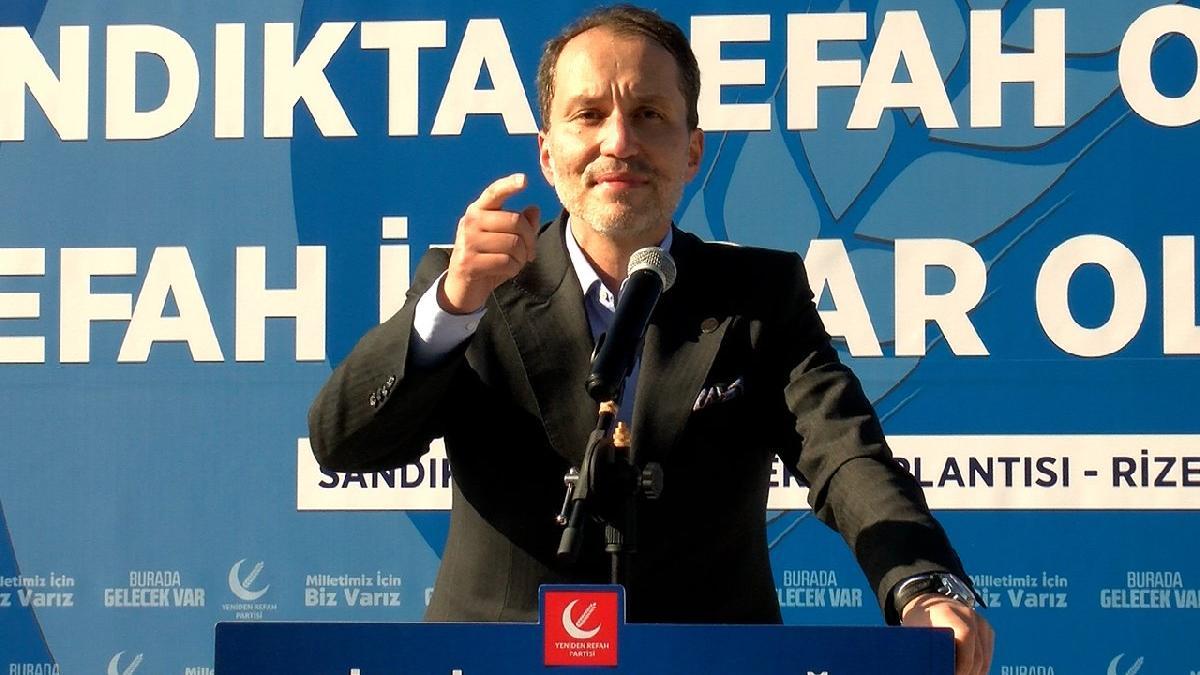 Erbakan: Türkiye'de bir iktidar değişimi olacak